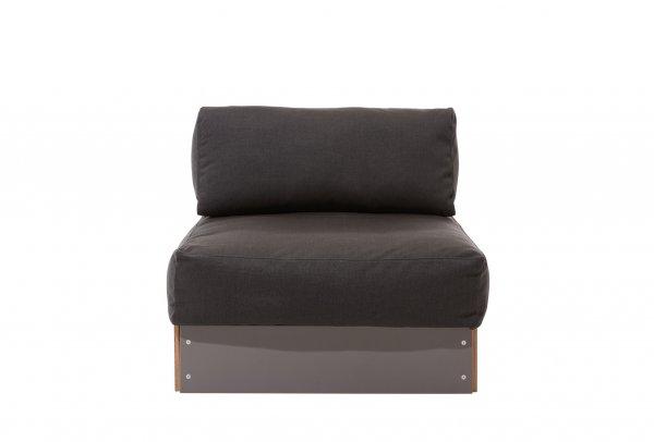 Sofabank Einzelelement Anthrazit