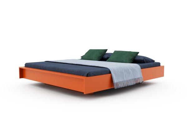 FLAI Doppelbett farbig lackiert