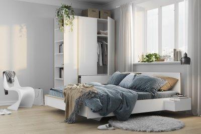 FLAI single bed white