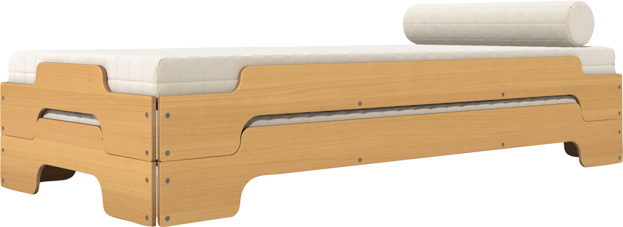 Stacking Bed Classic beech