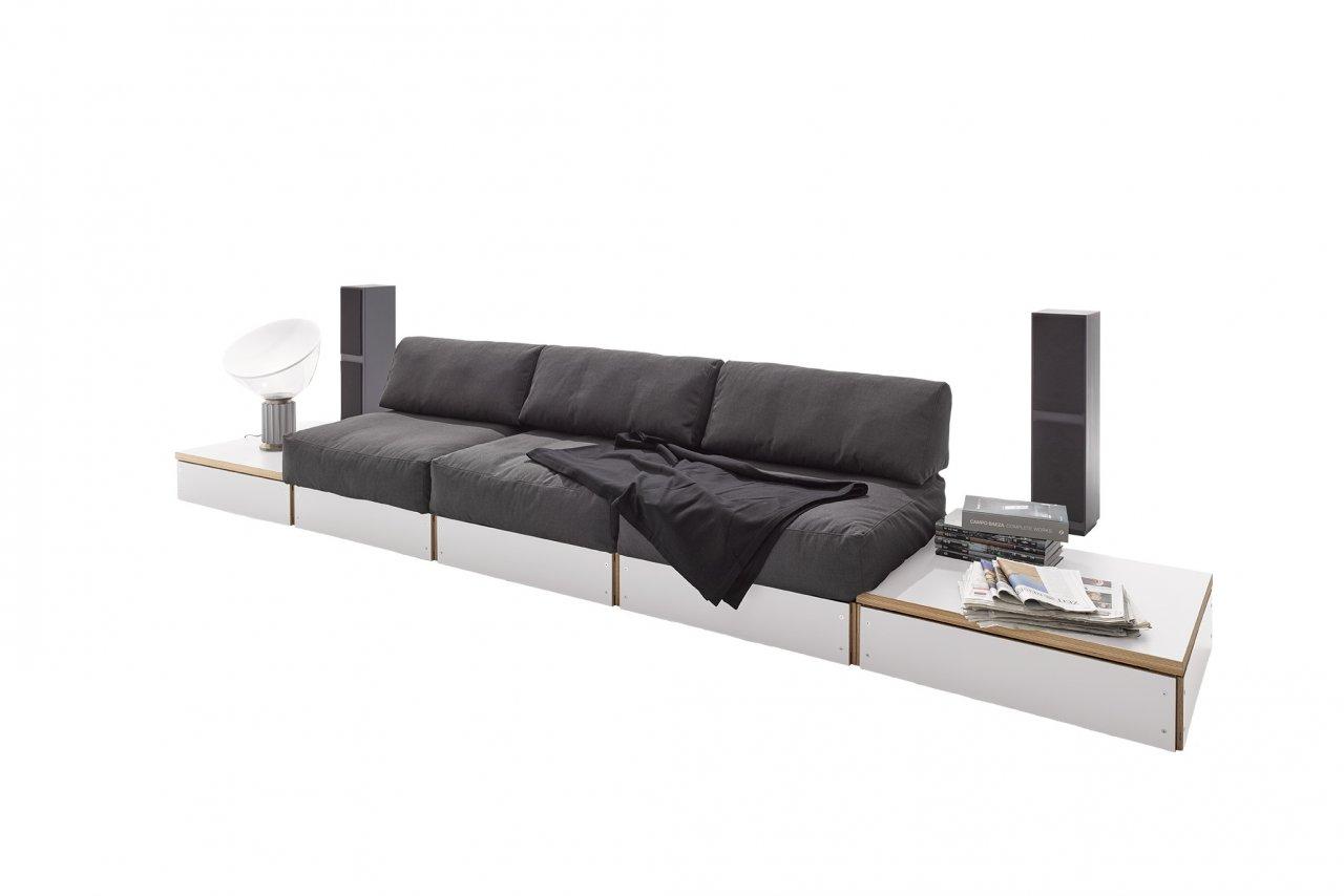 Sofabank No. 2 weiß