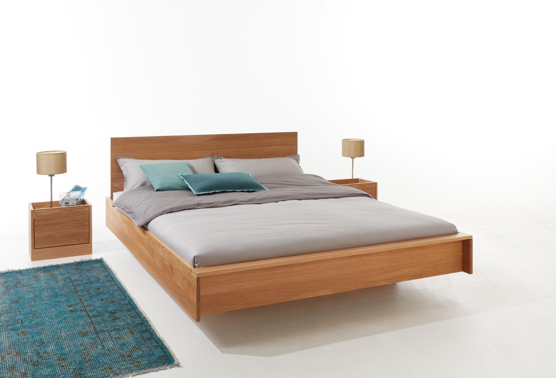 FLAI double bed oak Detailbild 1