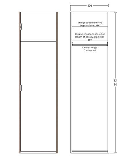 Modular Anbaubar Kleiderschrank Version 10 Ausführung 1