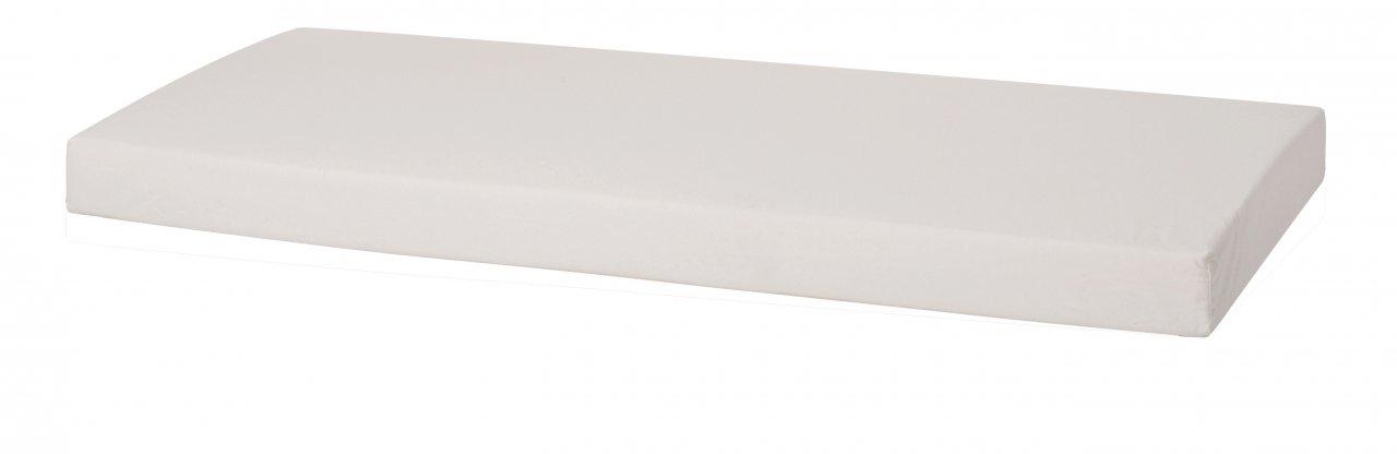 7-Zonen Kaltschaummatratze, Weiß, ungesteppt