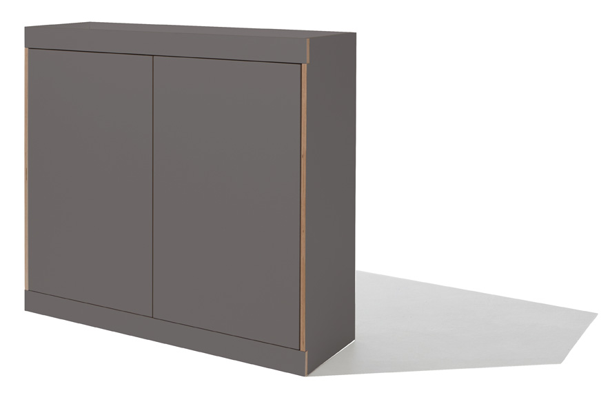 FLAI chest of drawers anthracite (four drawers) Detailbild 1