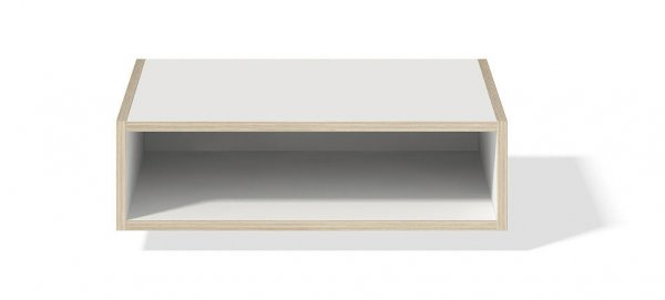 Modular Stapelbar offenes Element mit Rückwand