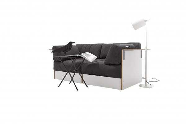 Sofabank No. 1 white