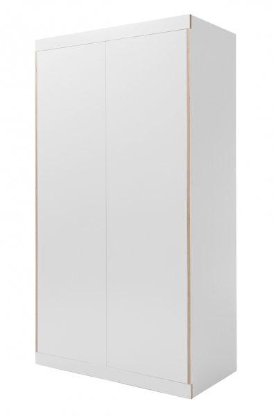 Flai Kleiderschrank mit zwei Türen im Seitenprofil