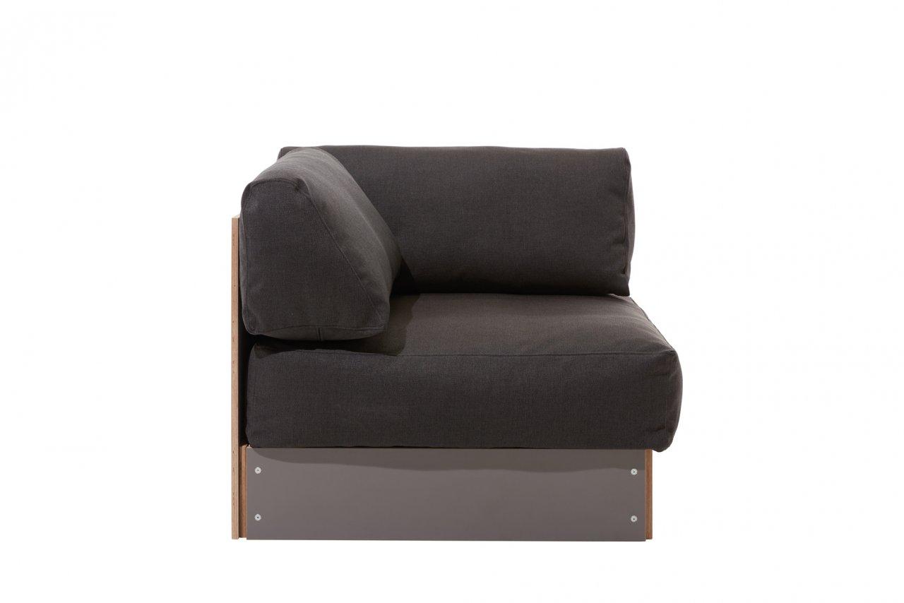 Sofabank Eckelement anthrazit