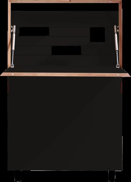 FLATMATE schwarz matt