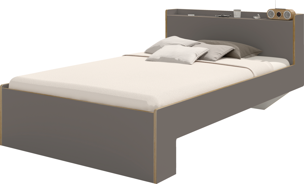 NOOK single bed anthracite