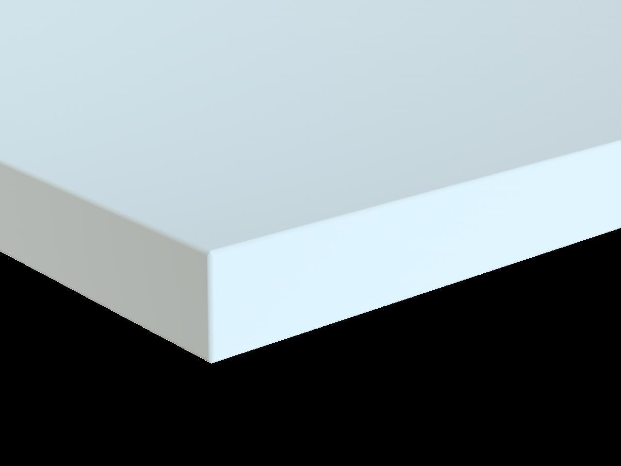 PLATO table top chipboard angular