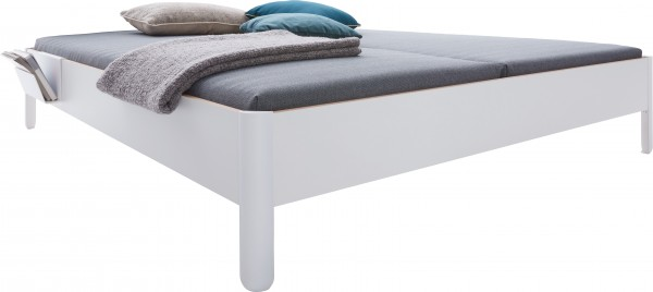 NAIT double bed white